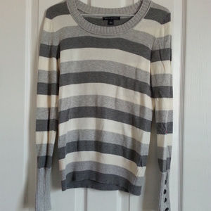 Banana Republic Stripe Sweatshirt size S